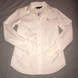 Women's Ralph Lauren long sleeve button down